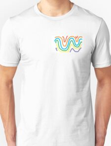 Spectrum of Swirling Color Unisex T-Shirt