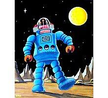 BIG BLUE ROBOT Photographic Print