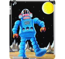 BIG BLUE ROBOT iPad Case/Skin