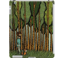 In the Woods with Fox iPad Case/Skin