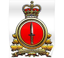 Special Operations Forces (Canadian) Command Badge Poster