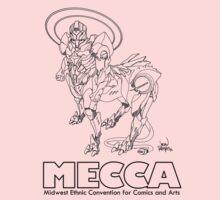 MERKABA MECHA, meccacon Kids Tee