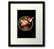 Kylo Raph Framed Print