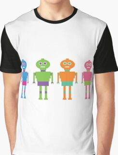 Robot Brothers Graphic T-Shirt