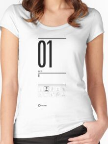 TEST 01 Women's Fitted Scoop T-Shirt