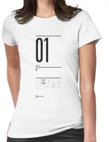 TEST 01 Womens Fitted T-Shirt