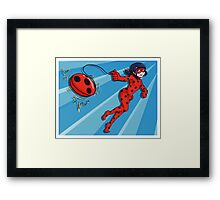 The Adventures of Miraculous Ladybug! Framed Print