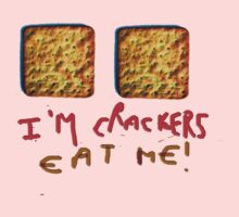 I am crackers - eat me One Piece - Short Sleeve