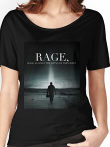 Interstellar - Rage Against the Dying of the Light Women's Relaxed Fit T-Shirt