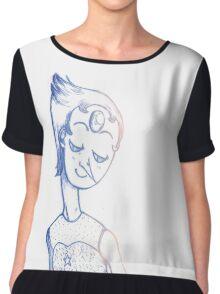 Pearl  Women's Chiffon Top