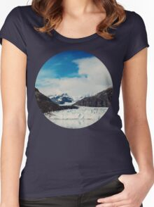 Glacier Bay Women's Fitted Scoop T-Shirt