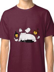 Ghost Lantern Kitty Classic T-Shirt