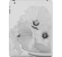 Lavatera Flowers In Tea Cup - Still Life iPad Case/Skin