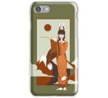 Volpina the Italian Kitsune iPhone Case/Skin