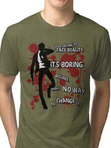 Adachi, Tohru - Persona 4 Tri-blend T-Shirt
