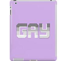 GAY iPad Case/Skin