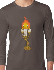 Calcifer's Moving Candelabra Long Sleeve T-Shirt