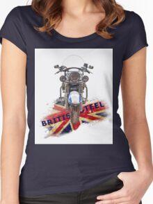 British Steel - Triumph Thunderbird LT Women's Fitted Scoop T-Shirt