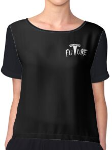 Tesla motors is Future - Cars Elon Musk Chiffon Top