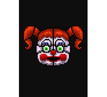 BABY - FNAF Sister location - Pixel Art Photographic Print