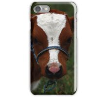 Brown and White Calf iPhone Case/Skin