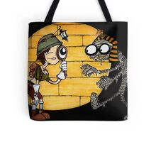 Egyptian Tomb explorer and Mummy Tote Bag