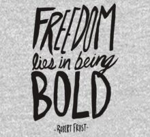 Robert Frost: Freedom One Piece - Long Sleeve