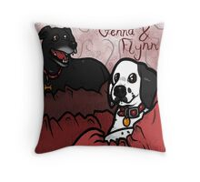 Tribute Genna & Flynn  Throw Pillow