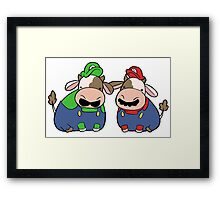 Super Cow Brothers Framed Print