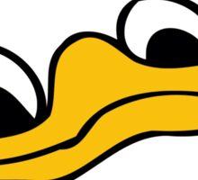 Duck Bill and Eyes Sticker