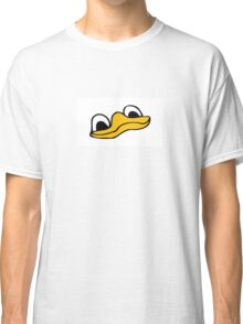 Duck Bill and Eyes Classic T-Shirt