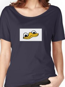 Duck Bill and Eyes Women's Relaxed Fit T-Shirt