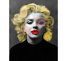 Paradox of Marylin Photographic Print