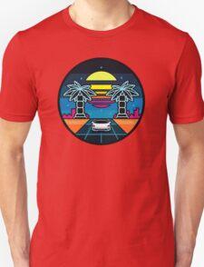 80's landscape Unisex T-Shirt