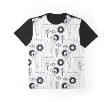 Cranes in ethnic dresses  Graphic T-Shirt
