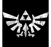 Zelda Triforce Symbol Photographic Print