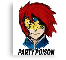 Party Poison Canvas Print