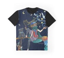 Witch Artist Graphic T-Shirt