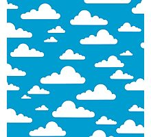 Happy Clouds Photographic Print
