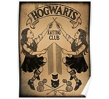 Knitting Club Poster