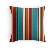 Fabric Art, Pattern, Bold and Beautiful Stripes Throw Pillow