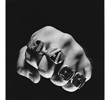 """FEAR """"MORE BEER"""" RINGS Photographic Print"""