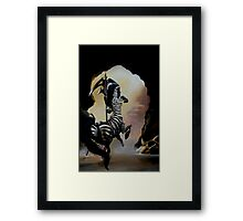 Dare to Pass Framed Print