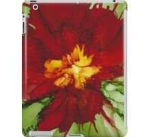 Flowerscape Flame iPad Case/Skin