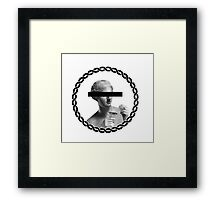 no comment Framed Print