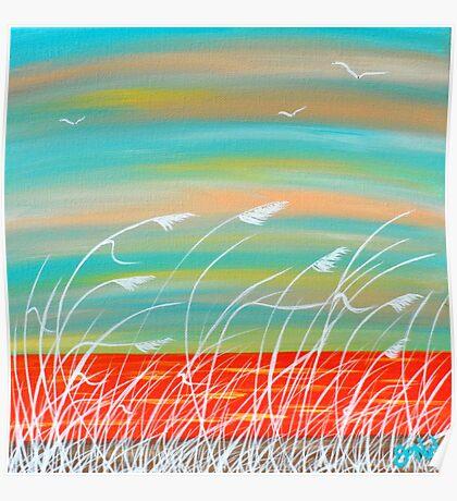 """""""Sea Breeze"""" Poster"""
