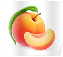 Peach fruit Poster