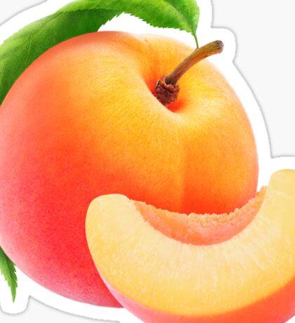 Peach fruit Sticker