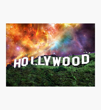 Hollywood - Home of the Stars by Sharon Cummings Photographic Print