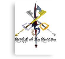 Knights of the Keyblade Metal Print